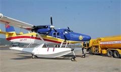 Máy bay DCH-6 sẵn sàng tìm kiếm 2 tàu cá/26 ngư dân gặp nạn