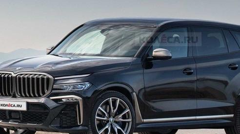Xem trước BMW X8 - SUV đỉnh cao nhất mọi thời đại của BMW