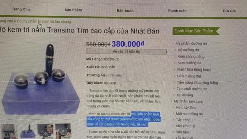 Triệt phá website đã đăng ký Bộ Công Thương công khai bán hàng giả mạo nhãn hiệu Transino