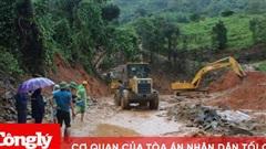 Khẩn trương khắc phục thiệt hại do mưa lũ, sạt lở và bão số 9
