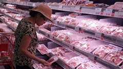 Thịt heo bình ổn giảm từ 4.000-5.000 đồng/kg