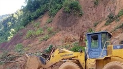 Vụ sạt lở đất ở Quảng Nam: Mất liên lạc với cả gia đình Bí thư xã Trà Leng