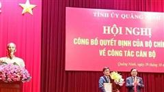 Thứ trưởng Bộ Xây dựng làm Phó Bí thư Tỉnh ủy Quảng Ninh