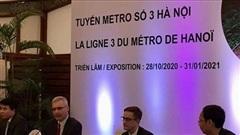 Tuyến đường sắt đô thị Nhổn - Ga Hà Nội sẽ được khai thác vào năm 2021