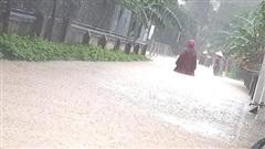 Hà Tĩnh: Hàng trăm nhà dân bị ngập do mưa lớn