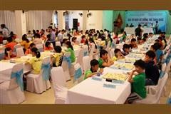 Gần 250 kỳ thủ tham dự Giải vô địch Cờ tướng trẻ toàn quốc 2020