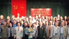 Cựu chiến binh sinh viên gặp mặt kỷ niệm 50 năm ''Xếp bút nghiên ra trận''