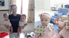 Mẹ bé Trúc Nhi - Diệu Nhi vỡ òa trong hạnh phúc khi hai con gọi tiếng 'mẹ' sau 16 tháng