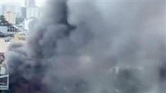 Hà Nội: Cháy lớn nhà hàng lẩu tại phố Duy Tân, Cầu Giấy