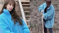 'Thánh lố' Ngu Thu Hân diện áo 45 triệu giống Jennie nhưng lại là để... đi cuốc đất
