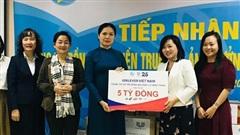 Các cấp hội phụ nữ quyên góp ủng hộ đồng bào miền Trung hơn 20 tỷ đồng