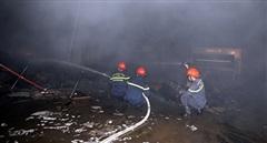 Cháy lớn tại Cty Bao bì Fushan, thiệt hại ước tính hàng chục tỷ đồng