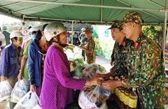 Ra quân thực hiện nhiều hoạt động dân vận ý nghĩa tại huyện Hàm Tân, tỉnh Bình Thuận