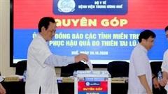 Bệnh viện Trung ương Huế phát động phong trào 'nghĩa đồng bào' hướng về miền Trung