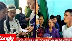 Công Vinh - Thủy Tiên điều tra và đã thu về 400 triệu đồng cứu trợ mà cán bộ thôn thu lại của người dân