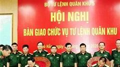 Cục trưởng Cục Tác chiến nhận chức vụ Tư lệnh Quân khu 5