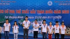 TP. HCM giành vị trí nhất toàn đoàn giải Cờ vua trẻ xuất sắc toàn quốc 2020
