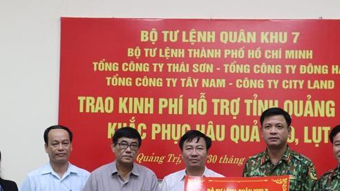 Nhiều địa phương, đơn vị tiếp tục hỗ trợ Quảng Bình, Quảng Trị khắc phục hậu quả mưa lũ