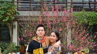 Mỹ Linh hạnh phúc khi con trai được nhận thông báo đỗ vào trường Đại học Y ở Úc