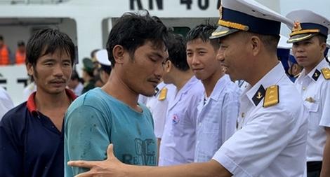 Giây phút đối mặt tử thần qua lời kể của thuyền trưởng tàu cá gặp nạn