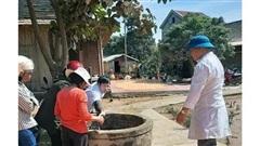 Vệ sinh môi trường và phòng, chống dịch bệnh sau lũ