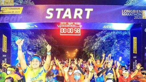 5.000 người tham dự giải chạy Longbien Marathon 2020