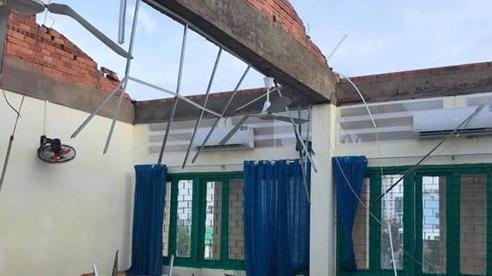 Thành phố Hồ Chí Minh: Lốc xoáy làm tốc mái ngôi trường ở quận 6