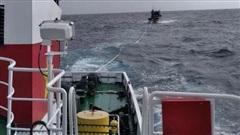 Tiếp tục tìm kiếm ngư dân mất tích trên biển