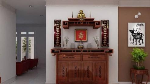 Những nguyên tắc vàng khi đặt bàn thờ trong căn hộ chung cư
