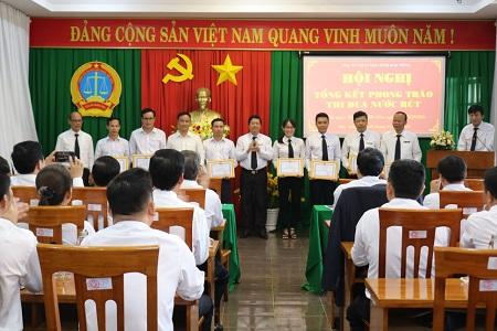 TAND hai cấp tỉnh Đắk Nông: Tuyên dương, khen thưởng các tập thể và cá nhân có thành tích xuất sắc