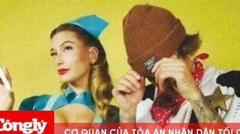 Justin Bieber và bà xã Hailey Bieber hóa trang thành nữ y tá, chàng cao bồi trong dịp Halloween