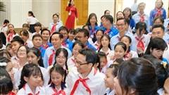 Phó Thủ tướng  Vũ Đức Đam gặp mặt  Đoàn đại biểu Cháu ngoan Bác Hồ tỉnh Bình Dương