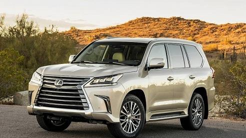 Bảng giá xe Lexus mới nhất tháng 11/2020: 'Chuyên cơ mặt đất' Lexus LX570 giữ mức 8,34 tỷ đồng