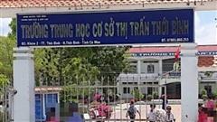 70 học sinh ở Cà Mau nhập viện do hạ canxi