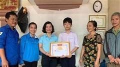 Hà Tĩnh: Nam sinh lớp 9 dũng cảm cứu sống 2 em nhỏ bị nước cuốn