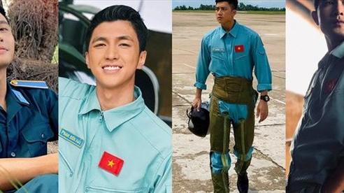 4 trai đẹp 'cực phẩm' làm phi công trong phim Tết trên VTV?