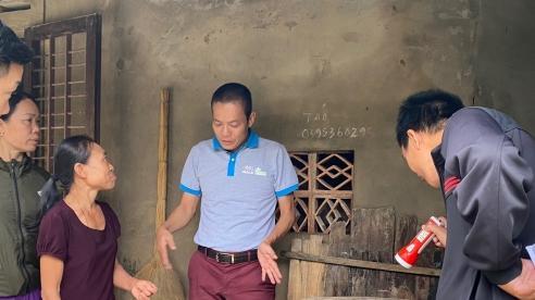 Hỗ trợ xử lý vệ sinh môi trường, phòng chống dịch sau mưa lũ tại Quảng Bình