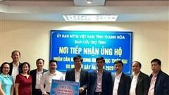 Thanh Hóa ủng hộ đồng bào miền Trung gần 13 tỷ đồng