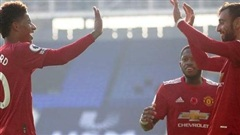 Man United thắng Everton 3-1