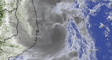 Đồng loạt bắn pháo hiệu dọc tuyến biển khu vực chịu ảnh hưởng của bão số 12