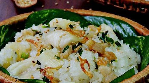 Cách nấu xôi sắn chuẩn vị mùa thu Hà Nội