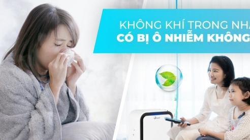 Không khí trong nhà có bị ô nhiễm không?