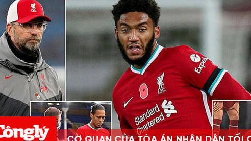 Gomez chấn thương: Khi Liverpool phải 'nhắm mắt' chờ phiên chợ Đông