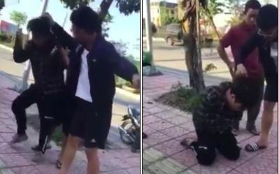 Xôn xao clip thanh niên 9X rủ rê nữ sinh 11 tuổi đi nhà nghỉ bị phụ huynh đánh thừa sống thiếu chết