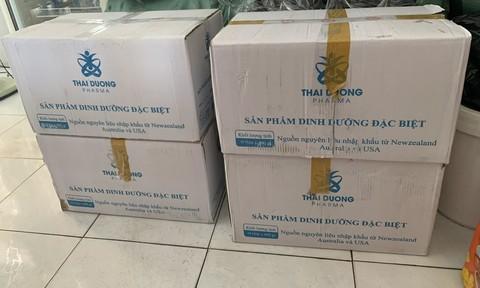 Tạm giữ 150 hộp thực phẩm chức năng của Công ty dược phẩm Thái Dương