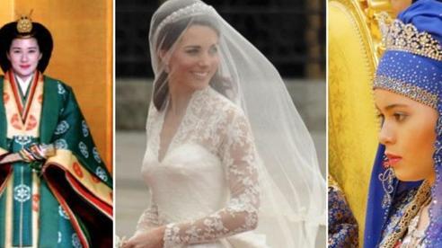 'Bóc giá' những chiếc váy cưới hoàng gia xa xỉ nhất trong lịch sử