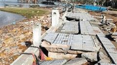 Đường 172 tỷ ở Thừa Thiên Huế 'nát như tương' sau bão