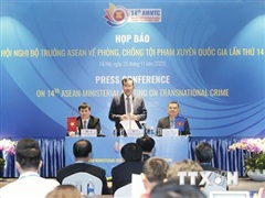 Bộ Công an đề xuất ba sáng kiến quan trọng tại hội nghị AMMTC 14