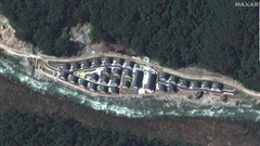 Ảnh vệ tinh tiết lộ Trung Quốc xây dựng công trình trên dãy Himalaya