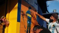 Thế giới tiếc thương huyền thoại bóng đá Diego Maradona